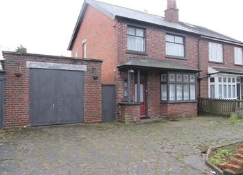Thumbnail 3 bedroom semi-detached house for sale in Clements Road, Yardley, Birmingham