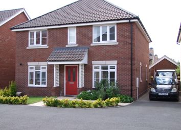 Thumbnail 4 bed detached house for sale in Montagu Drive, Saxmundham