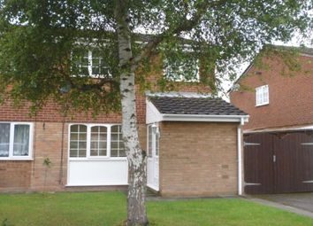 Thumbnail 3 bed semi-detached house to rent in Hamble Grove, Perton, Wolverhampton