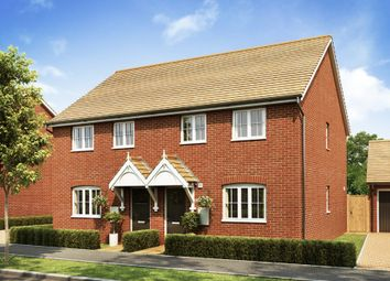 "Thumbnail 3 bed end terrace house for sale in ""Finchley"" at Broughton Crossing, Broughton, Aylesbury"