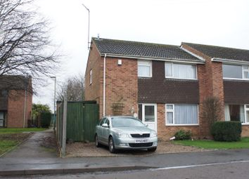 Thumbnail 3 bed semi-detached house for sale in Huston Close, Barrow Upon Soar, Loughborough