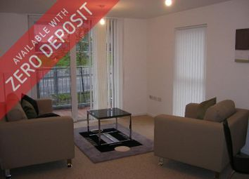 Thumbnail 2 bed flat to rent in Stillwater Drive, Sportcity, Manchester