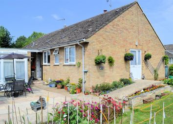 Thumbnail 2 bed semi-detached bungalow for sale in The Causeway, Stow Bridge, King's Lynn