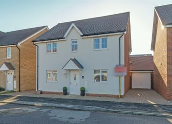 Thumbnail 4 bed detached house for sale in Eveas Drive, Sittingbourne