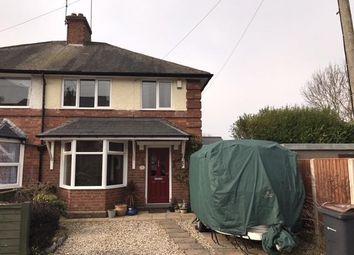 Thumbnail 3 bedroom semi-detached house for sale in Vicarage Road, Harborne, Birmingham