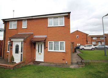 Thumbnail 2 bed semi-detached house for sale in Aintree Close, Bedworth