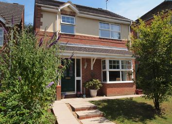 Thumbnail 3 bed detached house for sale in Elliot Close, Kibworth Beauchamp, Leicester