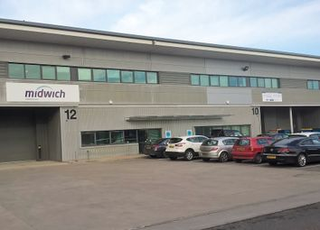 Thumbnail Warehouse to let in Unit 12 Ashburton Park, Wheel Forge Way, Trafford Park, Manchester