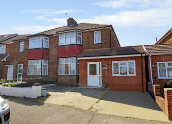 Thumbnail 4 bed semi-detached house for sale in Ashness Gardens, Greenford, Middlesex