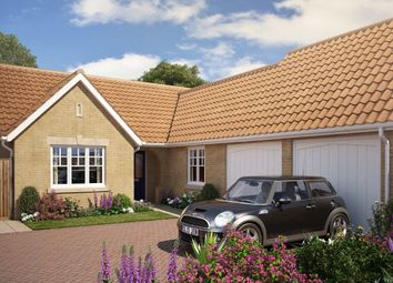 Thumbnail 3 bed detached bungalow for sale in Edgecomb Park, Farriers Road, Stowmarket