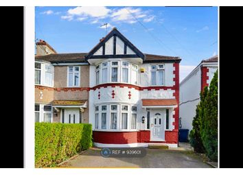 Thumbnail 3 bed end terrace house to rent in Dawlish Avenue, Perivale, Greenford
