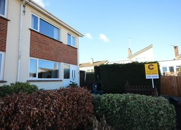 Thumbnail 3 bed semi-detached house for sale in Foxley Crescent, Newton Abbot