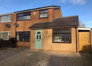 Thumbnail 3 bed semi-detached house for sale in Normanby Drive, Connah's Quay, Deeside