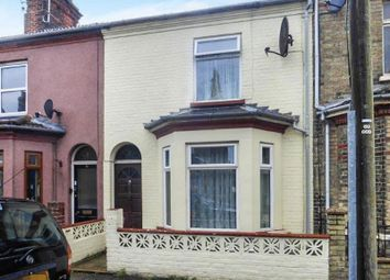 Thumbnail 2 bed terraced house for sale in Beresford Road, Lowestoft