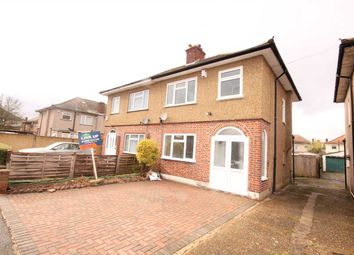 Thumbnail 3 bed semi-detached house to rent in Dorset Avenue, Hayes