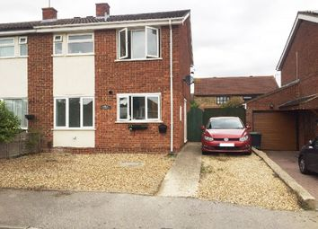 Thumbnail 3 bed semi-detached house to rent in Langham Road, Raunds, Northamptonshire