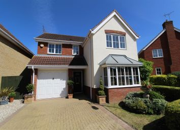 Thumbnail 4 bed detached house for sale in Morgan Drive, Ipswich