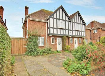 Thumbnail 3 bed semi-detached house for sale in Nelson Road, Goring By Sea, Worthing, West Sussex