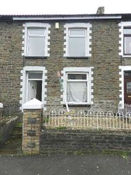 Thumbnail 3 bed terraced house to rent in Bank Street, Penygraig, Tonypandy