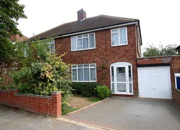 Thumbnail 3 bed semi-detached house to rent in Lichfield Road, Northwood