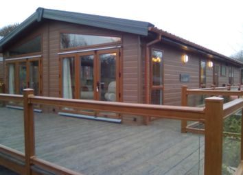 Thumbnail 3 bed lodge for sale in Harmby, Leyburn