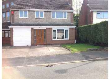 Thumbnail 4 bed detached house to rent in Eastgate Road, Holmes Chapel, Crewe