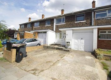 Thumbnail 3 bed terraced house to rent in Oban Terrace, St Peters Road, Luton