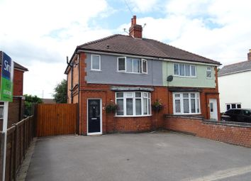 Thumbnail 3 bed semi-detached house for sale in Midland Road, Ellistown, Leicestershire