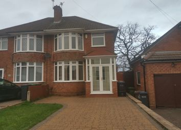 Thumbnail 3 bed semi-detached house for sale in Mayswood Road, Solihull