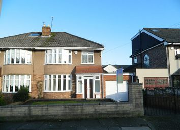 Thumbnail 3 bed semi-detached house to rent in Whinfell Road, Liverpool, Merseyside