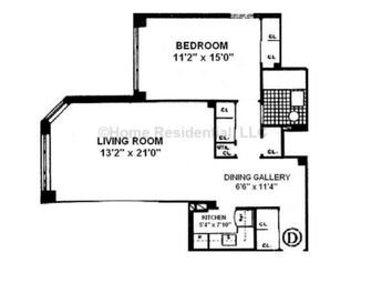 Thumbnail 1 bed property for sale in 80 Park Avenue, New York, New York State, United States Of America