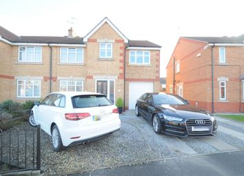 Thumbnail 4 bedroom semi-detached house for sale in Peppleton Close, Hull, North Humberside