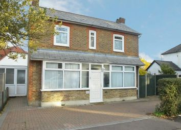 Thumbnail 3 bed detached house for sale in Lower Guildford Road, Knaphill, Woking