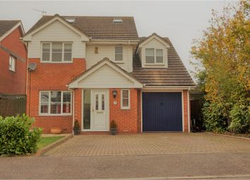 Thumbnail 4 bed detached house for sale in Burley Hill, Harlow