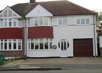 Thumbnail 4 bed semi-detached house for sale in Selwyn Crescent, Welling, Kent