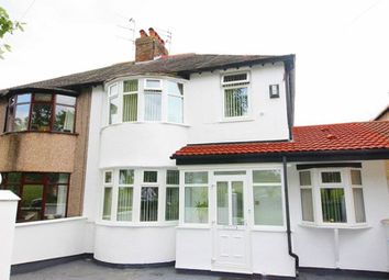 Thumbnail 3 bed semi-detached house for sale in Thingwall Road, Wavertree Gardens