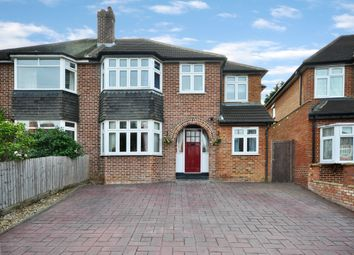Thumbnail 4 bed semi-detached house for sale in Chiltern Crescent, Earley, Reading