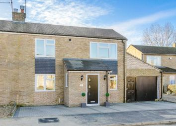 Thumbnail 3 bed semi-detached house for sale in Teign Close, Newport Pagnell