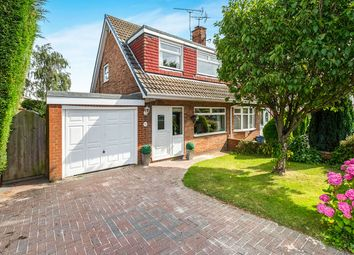 Thumbnail 3 bed semi-detached house for sale in Ambleside Walk, North Anston, Sheffield