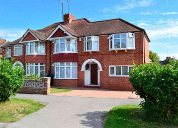 Thumbnail 4 bed semi-detached house for sale in Salcombe Drive, Earley, Reading