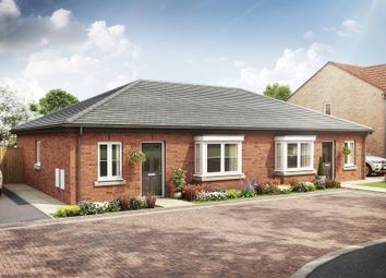 Thumbnail 2 bed semi-detached bungalow for sale in Harebell Road, Malton