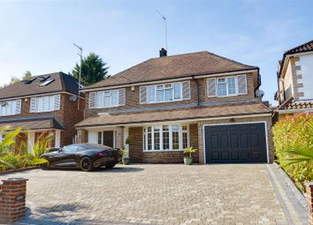 Thumbnail 4 bed detached house for sale in Courtleigh Avenue, Hadley Wood