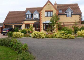 Thumbnail 4 bed detached house for sale in Hunts Close, Doddington