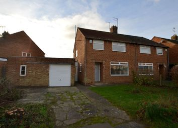 Thumbnail 3 bed semi-detached house for sale in Ryland Road, Moulton, Northampton