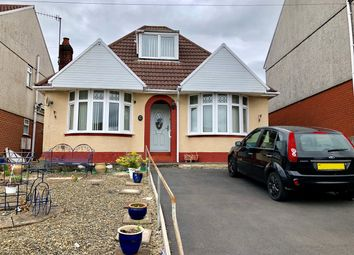Thumbnail 3 bed detached bungalow for sale in Parkhill Terrace, Treboeth, Swansea