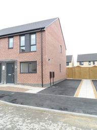 Thumbnail 2 bed semi-detached house to rent in Prince Drive, Fitzwilliam