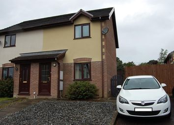 Thumbnail 2 bed terraced house for sale in Nant Arw, Capel Hendre, Ammanford