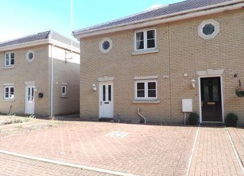 Thumbnail 3 bed terraced house to rent in The Osiers, Stowmarket, Suffolk