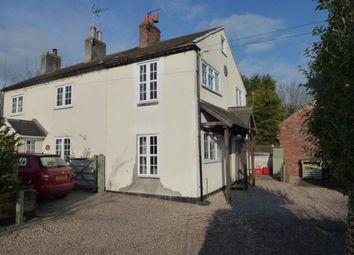Thumbnail 2 bed cottage to rent in High Street, Castle Donington, Derby