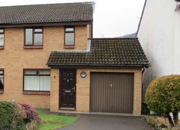 Thumbnail 2 bedroom semi-detached house to rent in 4 Briardene, Llanfoist, Nr Abergavenny, Monmouthshire